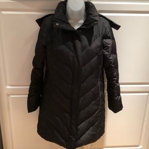 EUC Bass black puffer coat. Size S